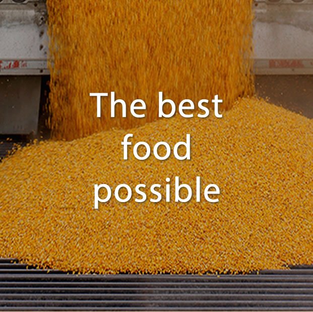 Consumers - The best food possible