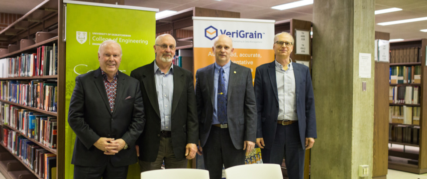 VeriGrain - U of Saskatchewan - MOU Signing